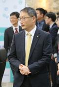 출범식 참석하는 구현모 KT 사장