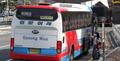 울산 중간 정류소에 정차하는 고속버스