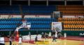 '코로나19' 농구 경기장 풍경