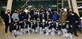 파이팅 외치는 한국 복싱대표팀 남녀 선수들