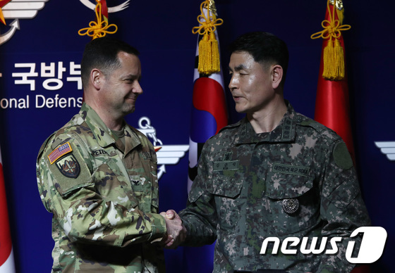 '코로나19 여파로 한미연합군사훈련 연기'