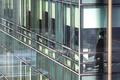 코로나19 확산 여파...'빌딩 밖은 위험해'