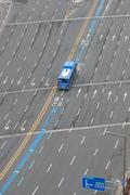 텅 빈 동대구역 앞 도로