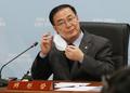 마스크 벗는 김세환 선거구획정위원장