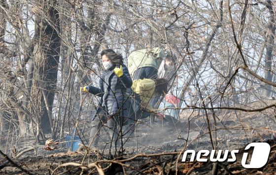 인천 연경산 화재