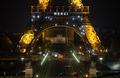 감사 메세지 전하는 파리 에펠탑