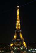 """""""메르시(Merci)"""", 감사 메세지 전하는 에펠탑"""