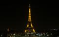 """""""RESTEZ CHEZ VOUS (집에 머물러 계세요)"""", 메세지 전하는 에펠탑"""