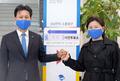 부인과 함께 사전투표 마친 김영문 후보
