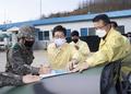 조명래 환경부장관, 강원 고성지역  아프리카돼지열병 대응 현장점검