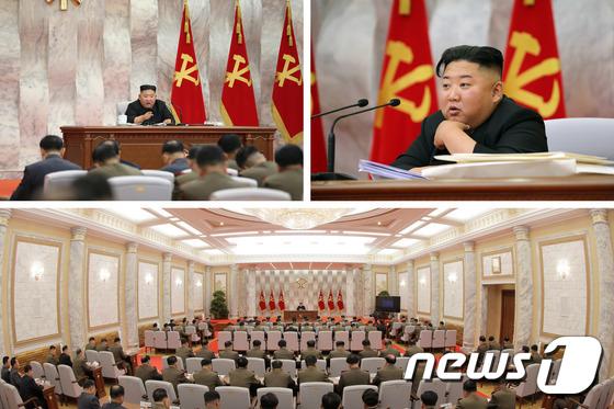 北김정은, 노동당 중앙군사위 주재…\'다시 잠행\' 22일만에 등장
