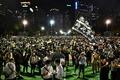 [사진] 텐안먼 희생자 추모 촛불 집회 참가한 홍콩 시민