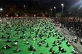 [사진] 사회적 거리 두고 텐안먼 추모집회 참석한 홍콩 시민