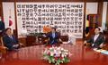 원 구성 논의하는 박병석 의장과 여야 원내대표