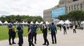 박원순 서울시장 분향소 앞 경찰들