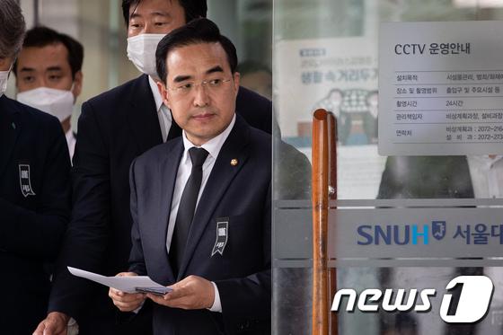 """박원순 장례위 """"영결식 온라인으로… 코로나 우려"""""""