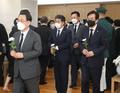 故 백선엽 장군 조문하는 주호영 원내대표