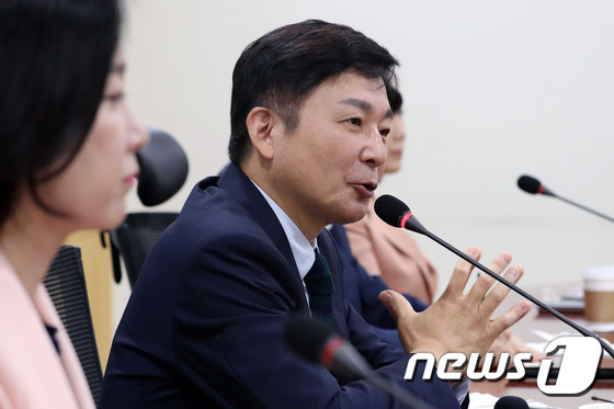 통합당 초선모임 강의하는 원희룡