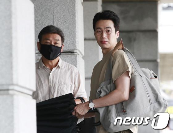 길용우-김정운 \'위험한 약속\' 촬영 왔어요