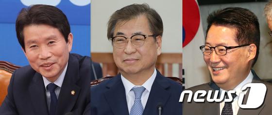 통일부장관 이인영·안보실장 서훈·국정원장 박지원 내정