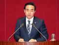 의사진행발언하는 박홍근 의원