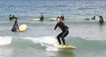 여름바다 시원한 서핑