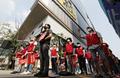 이스타항공 노동자들, 애경그룹 본사 앞에서 집회