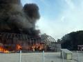 원주 메밀가루 공장서 불