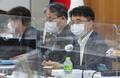 최저임금위원회 6차 전원회의 속개하는 박준식 위원장