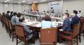 텅 빈 전원회의장 안쪽 근로자위원 자리