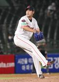 롯데 장원삼 '역투'