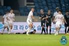 '도스톤벡 극적 동점골' 부산, 성남과 1-1로 비기며 3연패 탈출