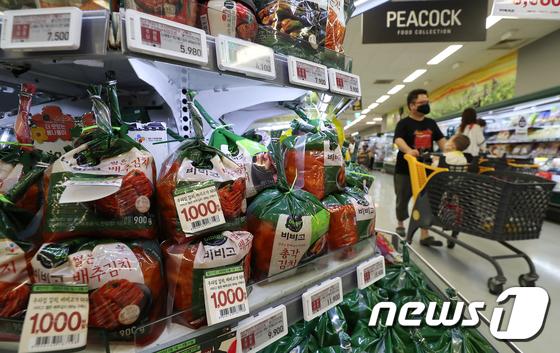 코로나19 여파에도 김치 수출 44% 증가