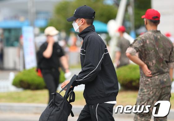 해군 입대하는 박보검