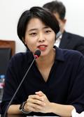 인사말하는 정보영 청년위 준비위원장