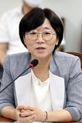 인사말하는 김지희 여성위원회 준비위원장