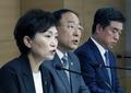 질문 받는 홍남기-김현미
