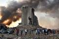 [사진] 폭발사고로 초토화된 베이루트항