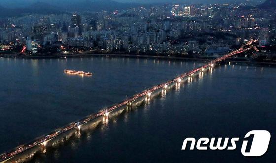 서울 주요도로 통제로 \'퇴근길 지옥\'
