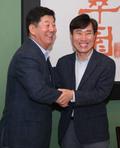 박재호·하태경 '부산을 위한 오찬회동'