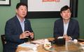 박재호·하태경 '부산 발전을 위한 오찬 회동'