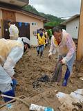 대한적십자사, 집중호우 재난 대응 활동