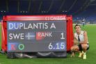 두플란티스, 장대높이뛰기 6m15 세계新…26년 만에 부브카 넘었다