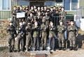 홍남기 부총리, 국군장병들과 기념사진 촬영