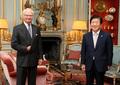 스웨덴 국왕 예방하는 박병석 국회의장