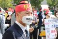 부동산시스템 구축 반대 집회 참석한 박용현 협회장
