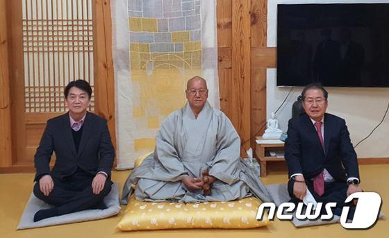 """홍준표 """"김종인, 주호영, 안철수, 박해하지 마… 결국 될 사람이 될게"""""""