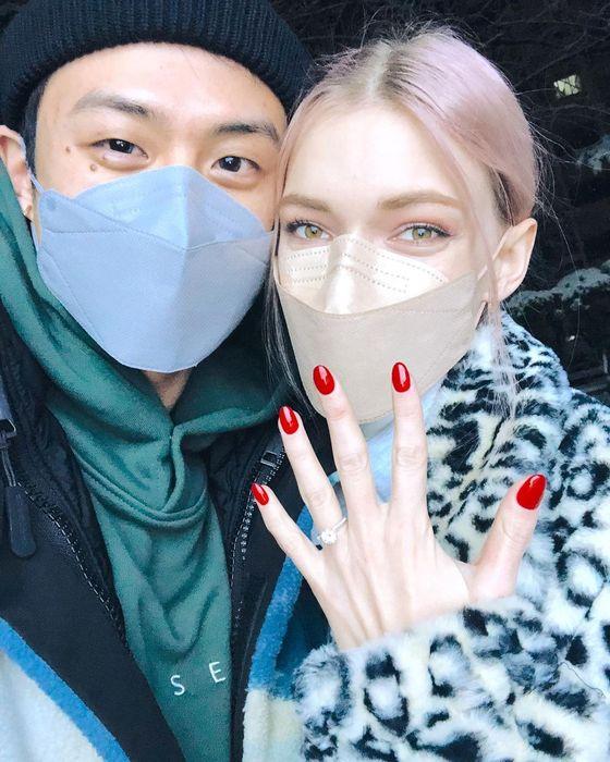 [N샷] 미초 바, ♥ 빈 지노 7 천만원 프로포즈 다이아몬드 링