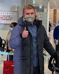 SK 와이번스 새 외국인 선수 아트 르위키 입국
