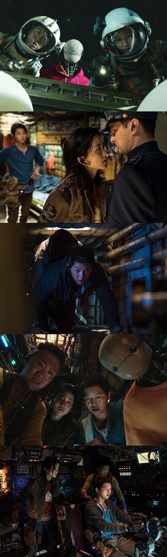 [N컷] '승리 호'송중기 → 김태리, 독특한 선원과 독특한 세계관